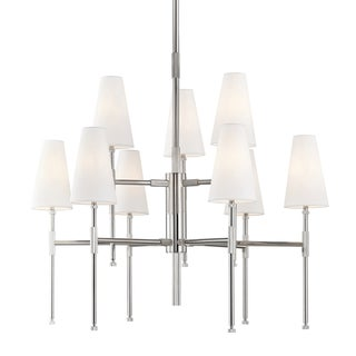 Bowery 9 Light Chandelier - Pn Preview
