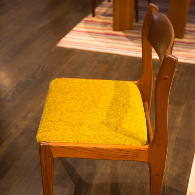 Danish Modern Teak Dining Chairs - 4 - Image 3 of 5