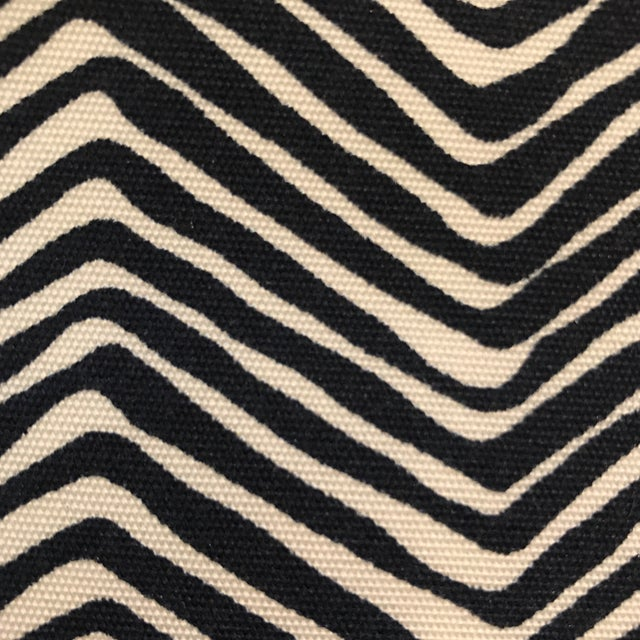 Quadrille Alan Campbell Petite Zig Zag Fabric - 2 2/3 Yards - Image 3 of 4