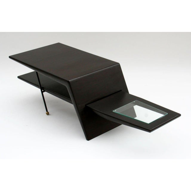 1960s Mid-Century Modern Sculptural Coffee Table For Sale - Image 4 of 5