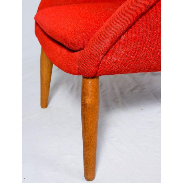"""Nanna Ditzel """"Oda"""" Lounge Chair For Sale - Image 9 of 9"""