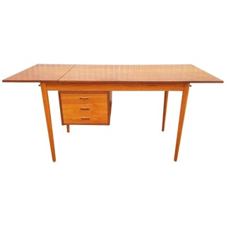Arne Vodder Teak Danish Modern Desk For Sale