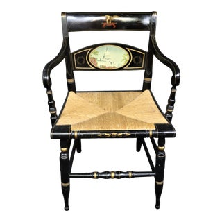 """Hitchcock """"The Capital"""" Limited Edition Chair For Sale"""