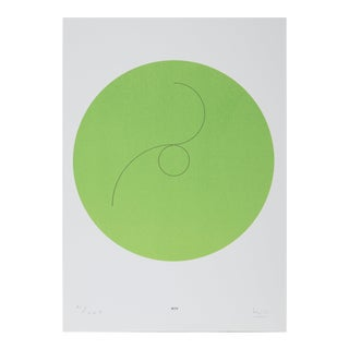 "Max Bill, ""Constellations Xiv"", Geometric Lithograph For Sale"