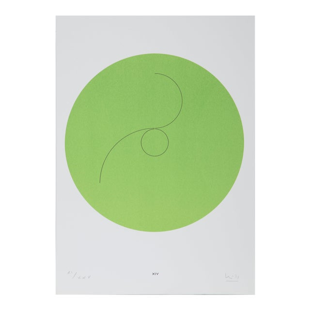 """Max Bill, """"Constellations Xiv"""", Geometric Lithograph For Sale"""