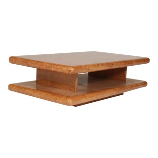 Parchment Coffee Table by Aldo Tura