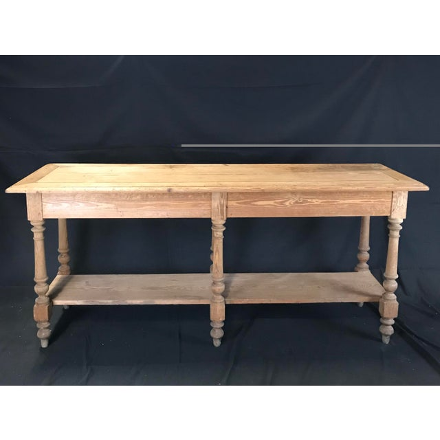 Mid 19th Century Antique French Pine Sideboard For Sale In Portland, ME - Image 6 of 12