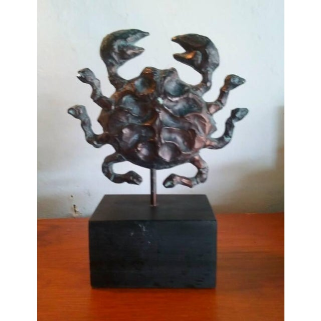 Mid-Century AstroFab Zodiac Cancer Sculpture - Image 4 of 5
