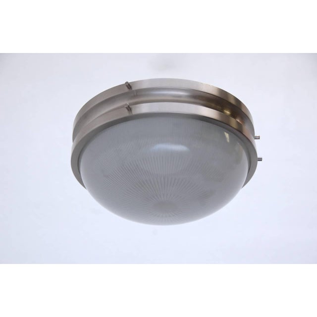 Italian Sergio Mazza for Artemide Flush Mount or Wall Mount Fixtures For Sale - Image 3 of 10