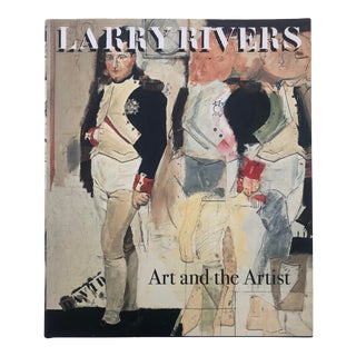 Larry Rivers Art & the Artist Hardcover 2002 For Sale