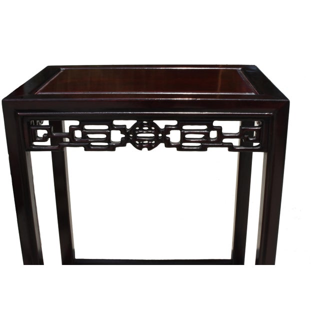 Chinese Rosewood Nesting Tables - Set of 4 For Sale - Image 11 of 13