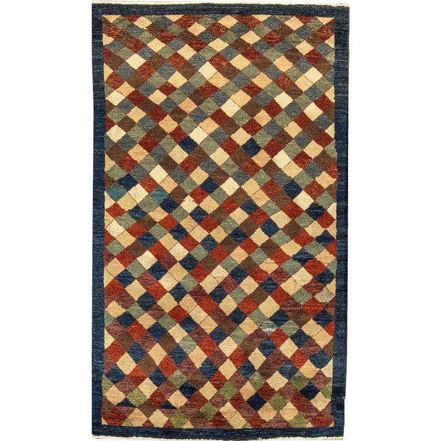 """Contemporary Hand Woven Rug 3'10"""" X 6'4"""" - Image 4 of 4"""