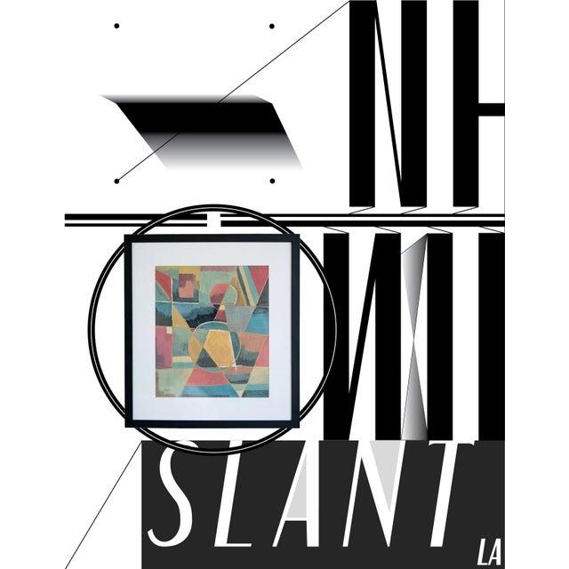 slant select -- Untitled by Ivan Kliun. Russian constructivist - Image 2 of 4