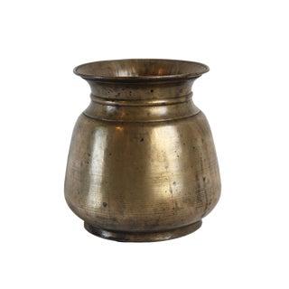 Vintage Brass Nepal Vase