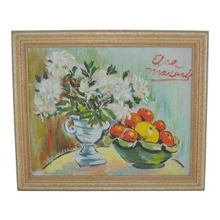 Elsa Maxwell Oil Painting