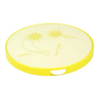 1970s Yellow Turntable Springform Cake Tin For Sale