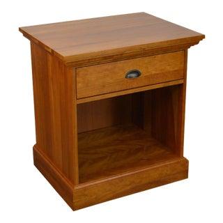 Vermont Tubbs Solid Cherry 1 Drawer Nightstand