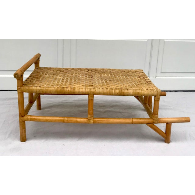 I am very much smitten with this bamboo and rattan table, which can function as a main coffee table or side table. I just...