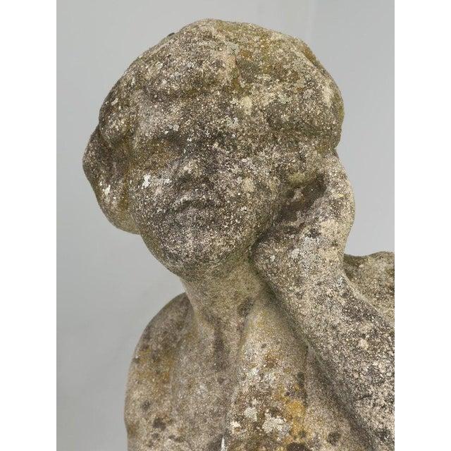 Concrete English Garden Sculpture Circa 1910-20 For Sale - Image 7 of 13
