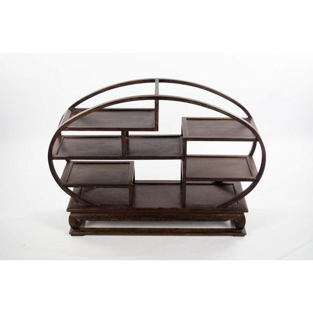 20th Century Chinese Wood Petite Etagere For Sale - Image 4 of 12