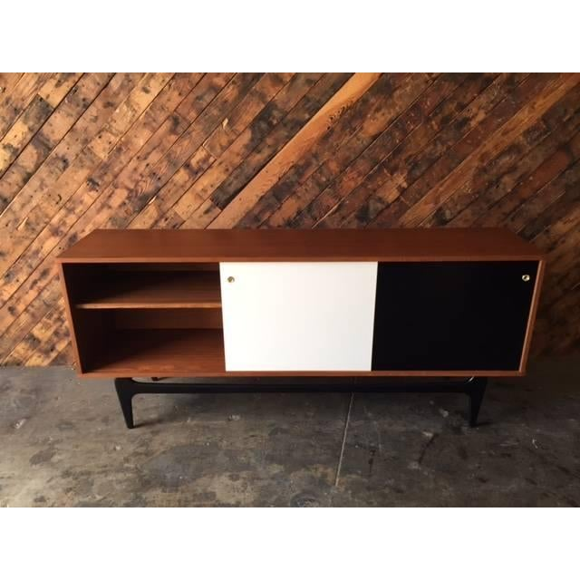 Mid Century Style Custom Credenza For Sale - Image 4 of 5