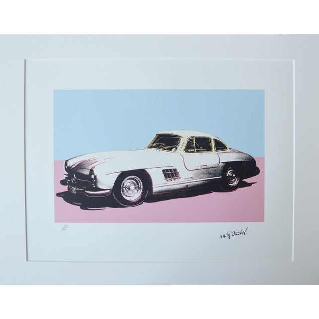 Andy Warhol Mercedes Benz - Image 1 of 5