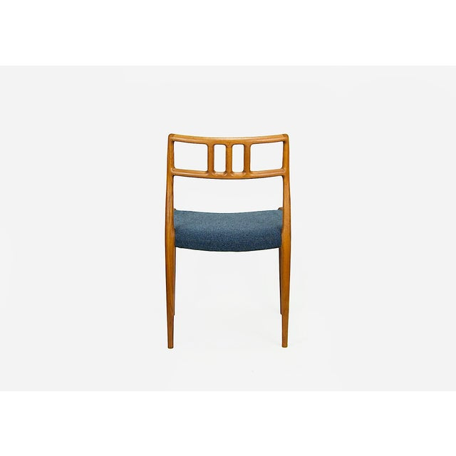 Niels O. Møller Teak Model 79 Dining Chairs - Set of 4 For Sale In Philadelphia - Image 6 of 12
