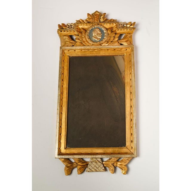 Neoclassical Swedish Mirror For Sale - Image 4 of 6