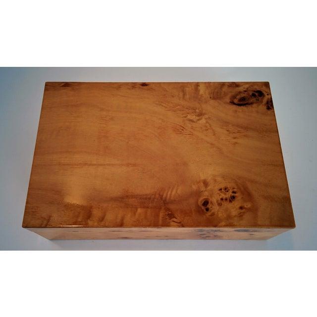 Burl Wood Box - Image 4 of 10