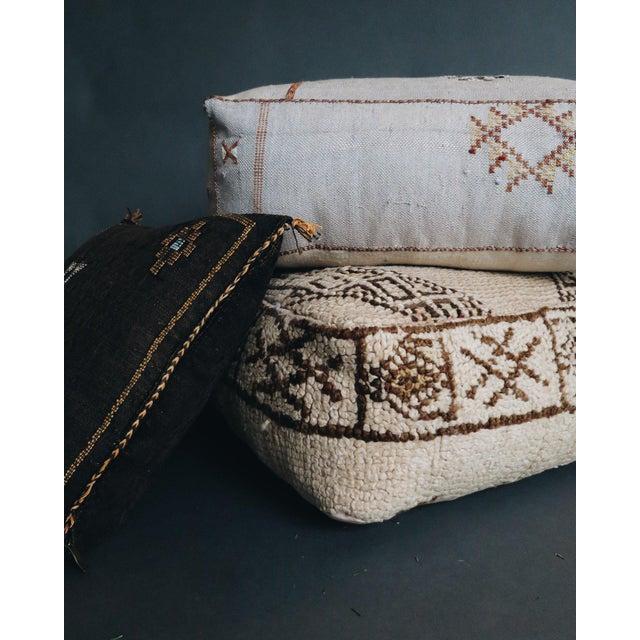 Islamic 'San Antonio' Moroccan Floor Pillow For Sale - Image 3 of 6