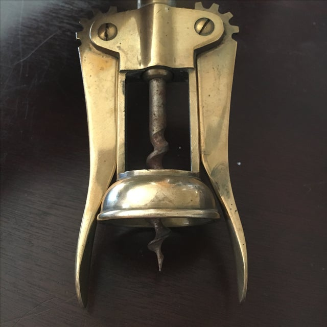 Solid Brass Corkscrew For Sale - Image 5 of 5