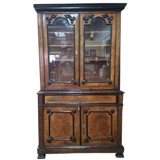 Biedermeier Secretary Bookcase For Sale