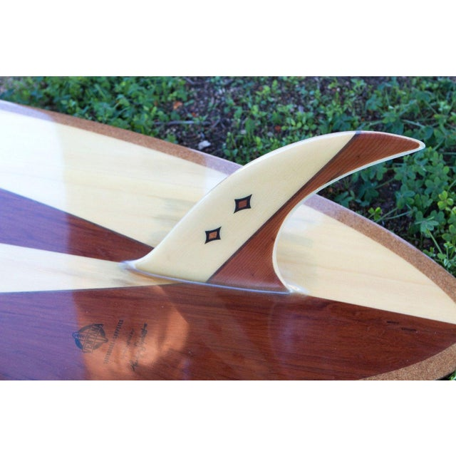 Reclaimed Hollow Wood Surfboard by Ventana - Image 4 of 7