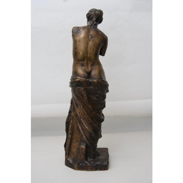 Grand Tour Antique Venus De Milo Sculpture Grand Tour Bronze For Sale - Image 3 of 8