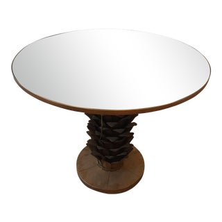 Bungalow 5 Athena Mirror Top Center/Dining Table For Sale