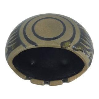 1960s Ceramic Covered Ashtray by Sascha Brastoff For Sale