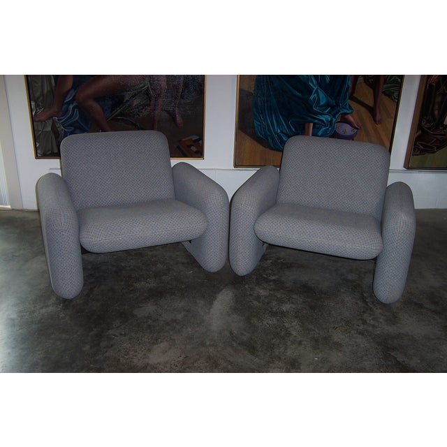 Herman Miller Chiclet Chairs & Table - Set of 3 For Sale - Image 7 of 11