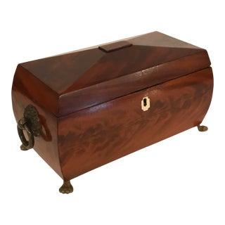 Mid 19th Century Tea Caddy For Sale