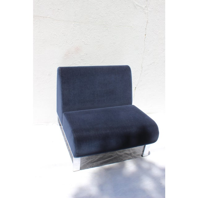 Set of Four Mid-Century Modern Club Chairs For Sale - Image 10 of 13