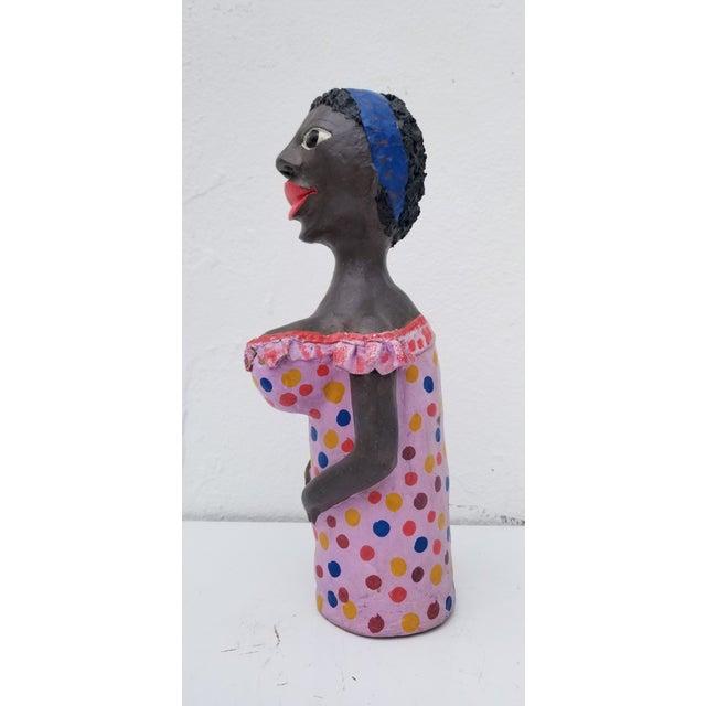 Contemporary 1980s Brazilian Female Sculpture For Sale - Image 3 of 13