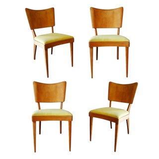 "Heywood Wakefield Closed ""Stingray"" Dining Side Chairs, Set of Four For Sale"