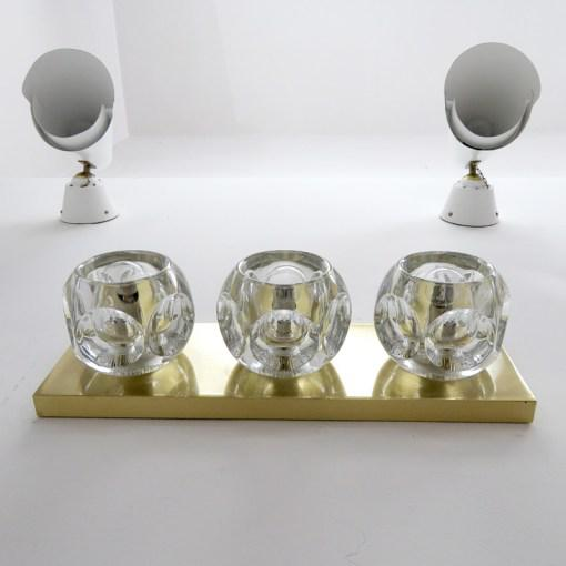 Peill & Putzler Cubic Wall Lights - A Pair For Sale In Los Angeles - Image 6 of 10