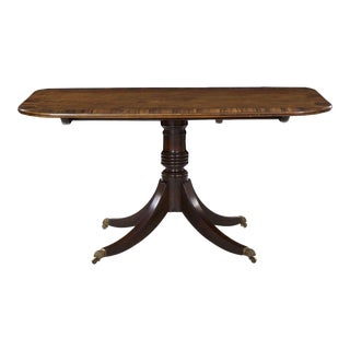 Regency Period Antique Mahogany and Coromandel Breakfast Table, Circa 1820 For Sale