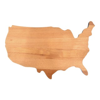 Wood United States of America Cutting Board For Sale