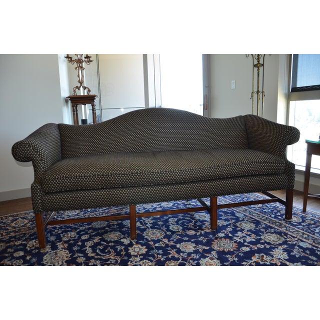 Traditional 1990s Vintage Baker Sofa For Sale - Image 3 of 3