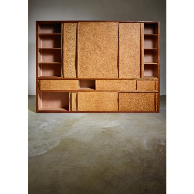 Rare and Complete Charlotte Perriand & Jean Prouve Cupboard From Le Mans For Sale - Image 6 of 7