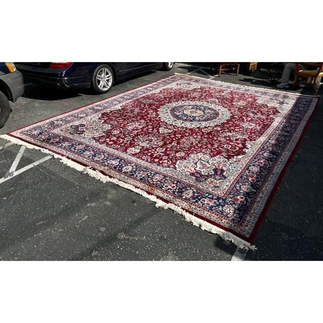 Huge 12 by 16 Vintage Hand Made Persian Wool Rug