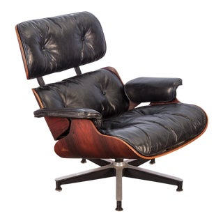 Second Generation 1960s Eames 670 Lounge Chair for Herman Miller For Sale