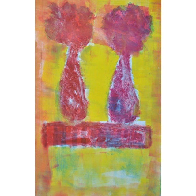 Figurative Still Life with Flowers C.2005 - Image 2 of 4