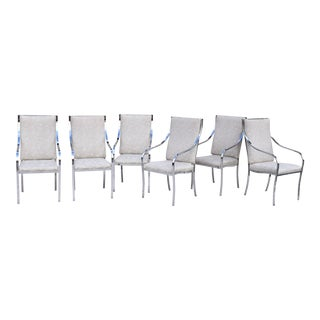 Milo Baughman for Thayer Coggin Dining Chairs- Set of 6 For Sale